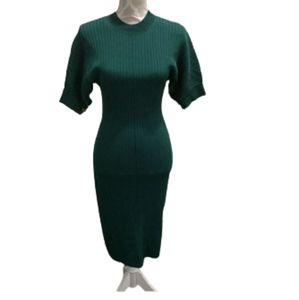 NWT & other stories emerald green ribbed d…
